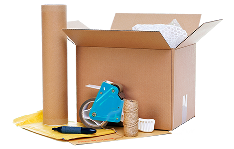 Packing supplies provided by packing services NJ