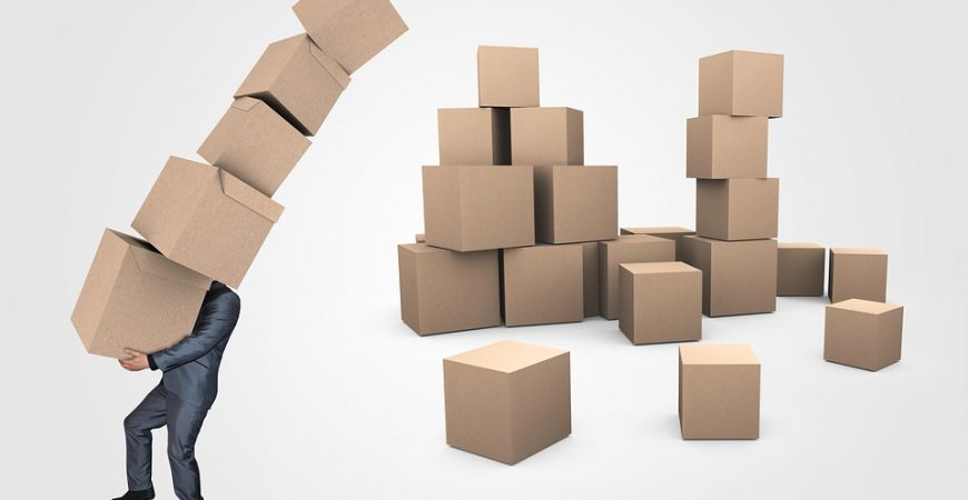 Prevent injuries on a moving day by packing your boxes right. Don't overdo it!
