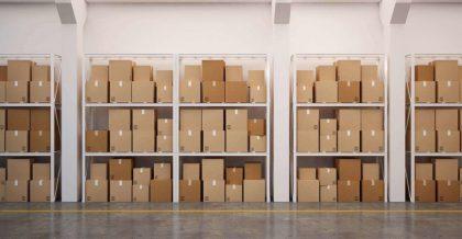 Well-organized storage units Bergen County.
