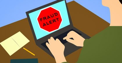 a person being the victim of a moving scam
