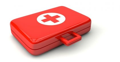 a first aid kit for piano relocations