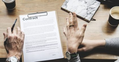 A person bargaining with movers before they signed a contract