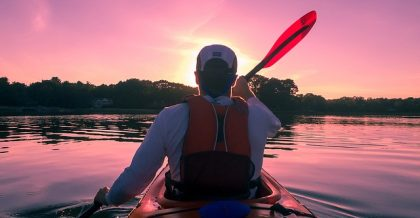 Canoeing on the Hackensack is one of the things to do in Westwood NJ